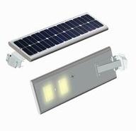 Integrované solárne svetlo