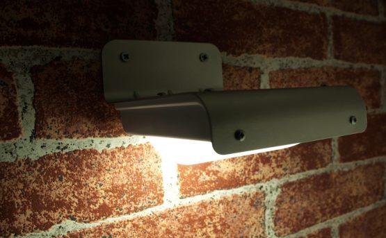 solárne svetlá na stenu