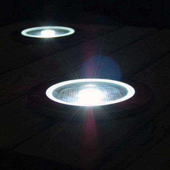 solárne podlahové osvetlenie
